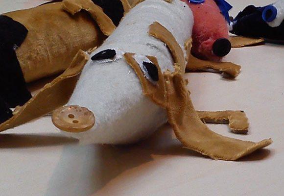 Czy ktoś widział jamnika? – jak z papierowej rolki po ręczniku zrobić jamnika.